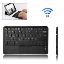 Ultra Flat Thin Bluetooth 3.0 Rechargeable Water-Proof Dust-Proof Keyboard for Smart Phone / Tablet PC/Notebook/Desktop Computer