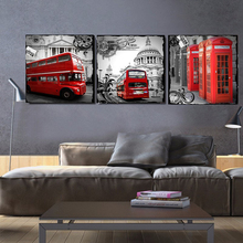 Home Decor European London  Architecture Canvas Painting Print Oil Painting Wall Decor Canvas Art Wall Pictures Living Room HY02