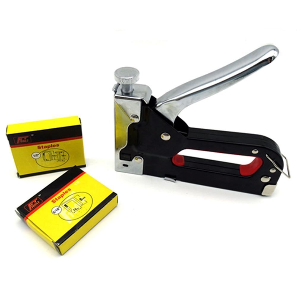 Multitool Nail Staple Gun Furniture Stapler For Wood Door Upholstery Framing Rivet Gun Kit Nailers Rivet Tool Nietzange ZK158-1<br><br>Aliexpress