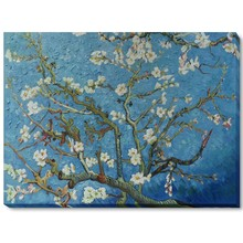 100% Handmade Flower Oil Painting Reproductions Canvas Wall Art Branches of an Almond Tree in Blossom Vincent Van Gogh Painting