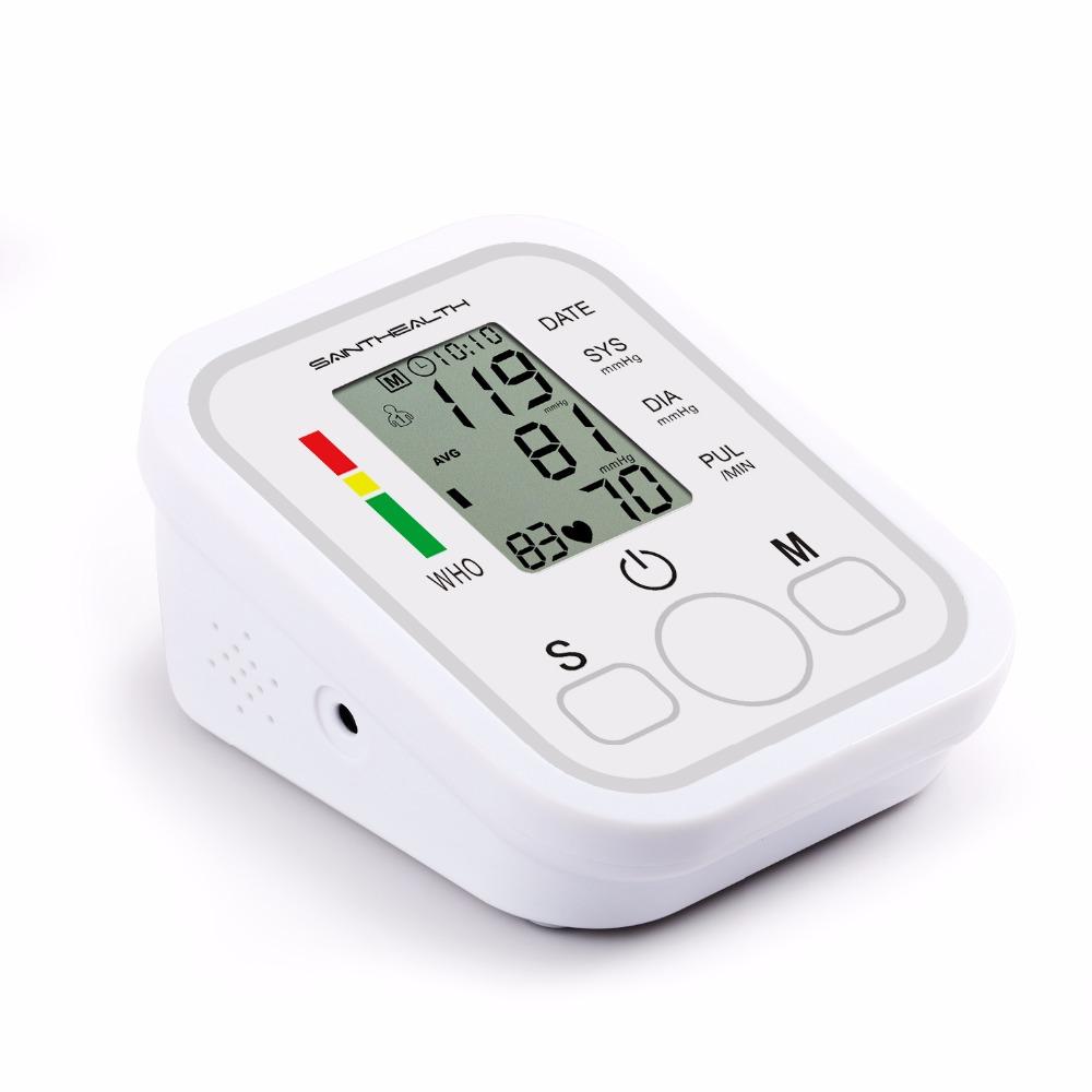 جهاز الرعاية الصحية المنزلية لقياس ضغط الدم ورصد ضربات القلب 10