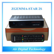 20 pcs/lot HD DVB S2&S twin tuner Satellite receiver enigma2 Linux OS free to air Zgemma Star 2S
