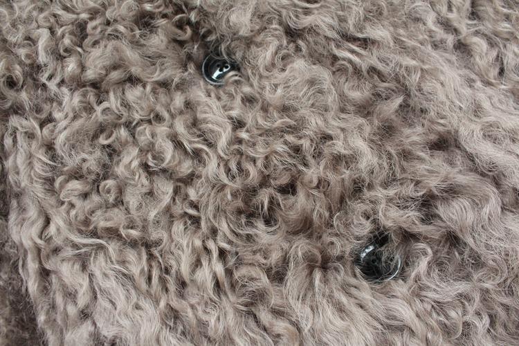women natural lamb sheep fur coat (24)