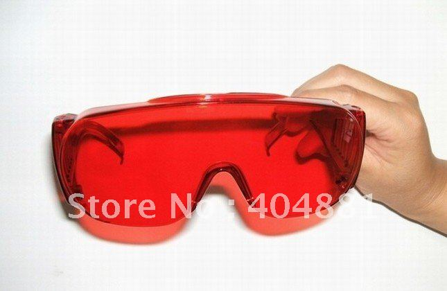 laser safety eyewear 190-540nm O.D 4+ CE certified for 266nm,445nm, 473nm, 532nm high power laser (&gt;500mw)<br>