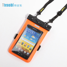 "Tteoobl 4.8""~5.9"" Mobile Phone Pouch 20M Waterproof Bag Underwater Dry Case Cover For Canoe Kayak Rafting Camp Swiming Drifting(China)"
