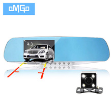 dual lens car camera auto dvrs cars dvr rearview mirror recorder video registrator full hd1080p night vision dash cam camcorder