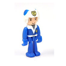 D1067 Free shipping hot selling train world SIMS mobile police team doll blue is gotten Thomas scene accessories(China)