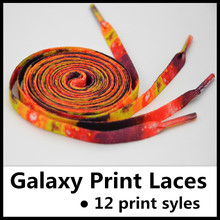 2015 Galaxy Print Shoelaces~Sneaker Laces~Yeezy Print Laces~Galaxy Print Laces~Galaxy Lace~Galaxy Shoelaces~DHL FREE SHIPPING