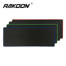 Rakoon 30*80CM Large Gaming Mouse Pad All Black-faced Red/Blue/Black/Green Lock Edge Rubber Speed Mouse Mat For PC Laptop(China)