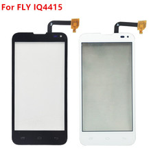 4.5 inch TouchScreen For FLY IQ4415 Era Style 3 Smartphone Cell Phone Touch Screen Digitizer Sensor Front Glass Phone Parts