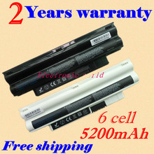 JIGU New 5200mah Laptop Battery 3K4T8 8PY7N 2T6K2 854TJ 312-0966 312-0967 For DELL Inspiron Mini 1012 Netbook 10.1