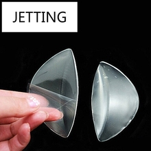 JETTING Clear Silicone Gel Arch Support Shoe Inserts Foot Wedge Cushion Pads Pain Relief Flat Feet Insoles 1pairs/lot