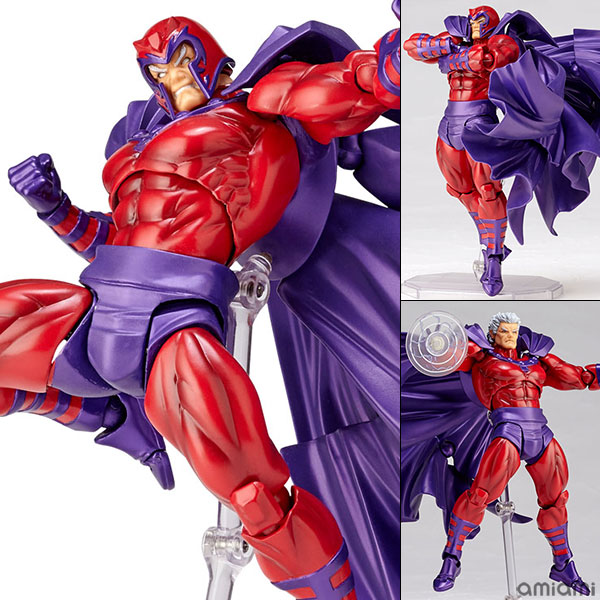Series NO.006 Revoltech Magneto PVC Action Figure Collection Toy 16CM<br>
