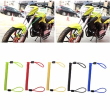 150cm Alarm Disc Lock Security Spring Reminder Cable Motorcycle Bike Scooter Wheel Brake Bag Anti Theft Protection 5-Color C45