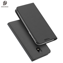 DUX DUCIS Luxury Leather Case For Samsung Galaxy j7 2017 Case J5 (2017) Samsung Galaxy J5 2017 Case Flip Cover Protect Phone Bag(China)