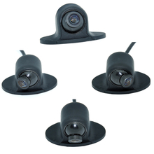 Mini CCD HD Night Vision 360 Degree Car Rear View Camera Front Camera Front View Side Reversing Backup Camera WF(China)