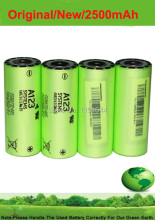 4PCS/LOT Original New 3.2V LiFePO4 ANR26650M1B 26650 2500mah High Drain 30C 70A Discharge Battery for A123 System