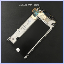 For LG G5 H850 H840 LCD Display Touch Screen Digitizer Assembly With Frame Free Tools