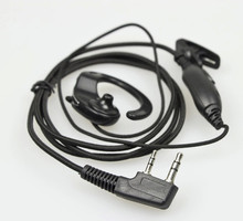 OPPXUN Good price Woven Cable Two way radio wireless earphone for Boafeng UV-5R Puxing WOUXUN HYT,TYT,