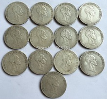 wholesale Denmark <1820-1839> 13 COINS  Free shipping