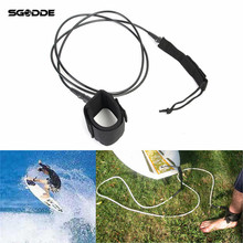 6FT Foot Surf leash Surfboard Leash Stand Up Paddle Board Leash Coiled Surf-Double Stainless Steel Kayak Surf Accessories(China)