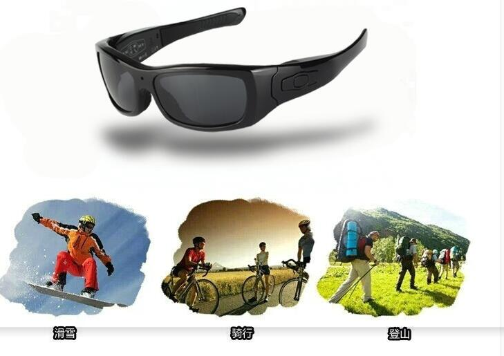 FOOANG Bluetooth headphone earphones HD DV glasses sunglasses recorder polarized lens uv400 mini camcorders photography camera