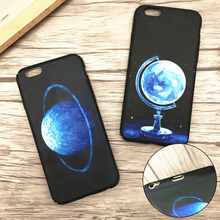 Hard PC Cover For iPhone 7 7plus Mystical Planet Venus Neptune Earth Matte Oil Anti-Fingerprint Back Case Fundas Capa