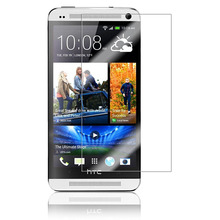 0.26mm Front LCD Explosion-proof Tempered Glass Film for HTC One M7/HTC ONE DUAL SIM Screen Protector pelicula de vidro