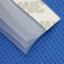 5 meters 5 layers doors windows sealing strip aluminum alloy window glass windproof stickers(China)