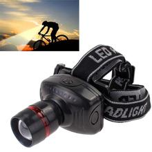 3W CREE LED Headlamp Flashlight Frontal Lantern Durable Zoomable Head Torch Light Bike Riding Lamp For Camping Hunting APJ