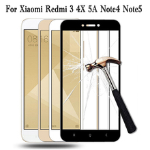 Buy protective glass xiaomi redmi note 4 xiomi redmi 4x glass Xiaomi redmi 3 5A Tempered Glass note 3 Screen Protector films for $1.13 in AliExpress store