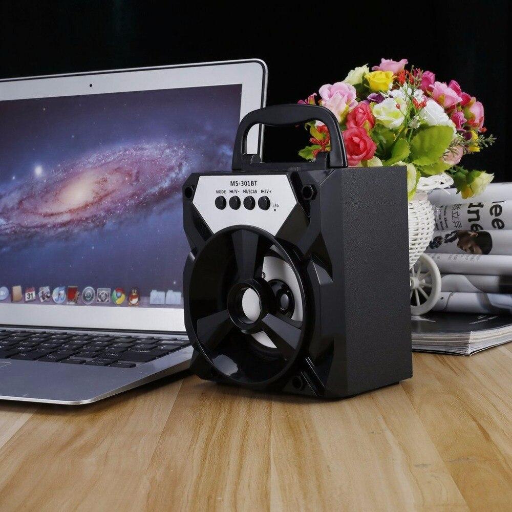 Handheld Bluetooth Wireless Speaker Indoor and Outdoor Portable Speakers Multimedia Mobile Loudspeaker Support AUX/TF/USB/FM