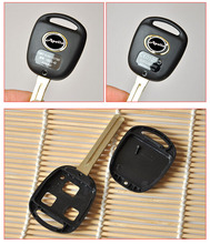 3 Buttons Remote Key Shell Case For Toyota Prado Camry Lexus With TOY48 Long Blade Fob Key Blank Cover 10PCS/lot