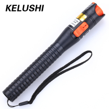 KELUSHI 10mW Plastics Fiber Optic Visual Fault Locator Red Laser Cable Tester Pen Testing Tool For CATV /FTTH