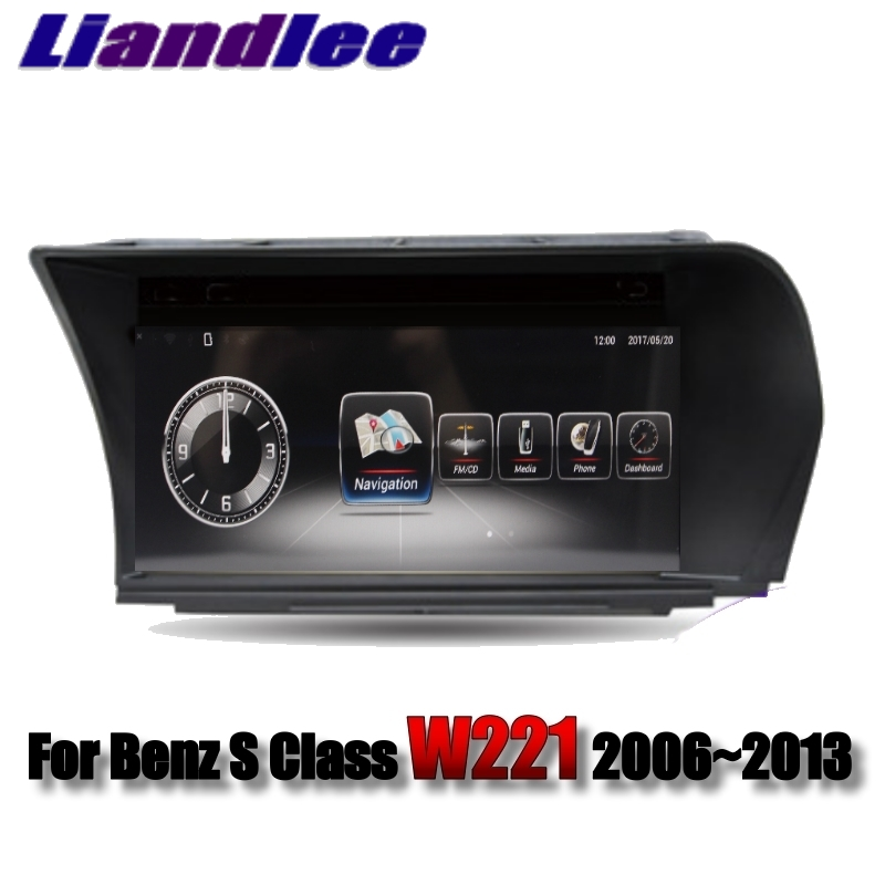 Liandlee Car Multimedia Player NAVI For Mercedes Benz S Class W221 S280 S320 S400 S600 S63 2006~2013 Radio Stereo GPS Navigation03