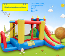 YOU-TOYS Inflatable Toys Slide Bounce House Castle Trampoline with baby pool Residential Nylon Inflated Bouncy Combo kids toys(China)