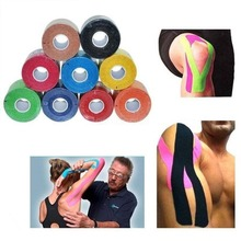 1 Roll Kinesiology Tape,Waterproof Elastic Physio Therapy Muscle Tape,Sports Safety Tape Bandage Strain Injury Support 2.5cmX5m