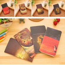 80k Creative Fantasy Life Personalized fashion Notebook Diary Book Exercising Notepad Gift Stationery School Supply 12.5*7cm