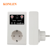 16A EU GSM Power Socket Remote Control Switch Relay Smart Intelligent Sockets Outlet 3000W SMS Call Android App Home Automation