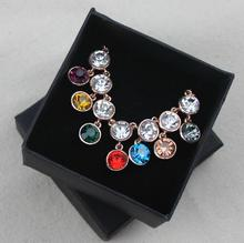 7.5*7.5*4.5CM Free shipping wholesale 55pcs/lot  Black Earring Ring Pedant Jewelry Packaging Box