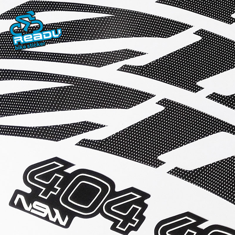 New Zipp 303 404 808 NSW road bike carbon rims stickers Road wheelset decals for two wheel decals(China (Mainland))