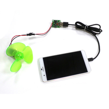 Small Mini Wind Micro Turbine Generator Charger DC 5V USB Output Power Motors(China)