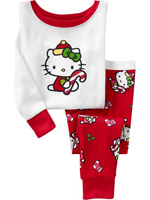 [Bosudhsou] Free Shipping 100% Cotton Hello kitty Baby Pajamas of the Children Leopard Pyjamas Kids Baby Clothing 2 pcs Set 149
