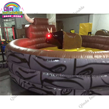 Commercial kids and adult Outdoor Thrilling Inflatable Games Mechanical Bull for Sale rodeo bull sport game
