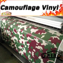 Hot Design Forest Camouflage Wrap Vinyl Sticker Decal Film For Motorcycle Truck Car Body Wrapping Matte/Glossy Finish