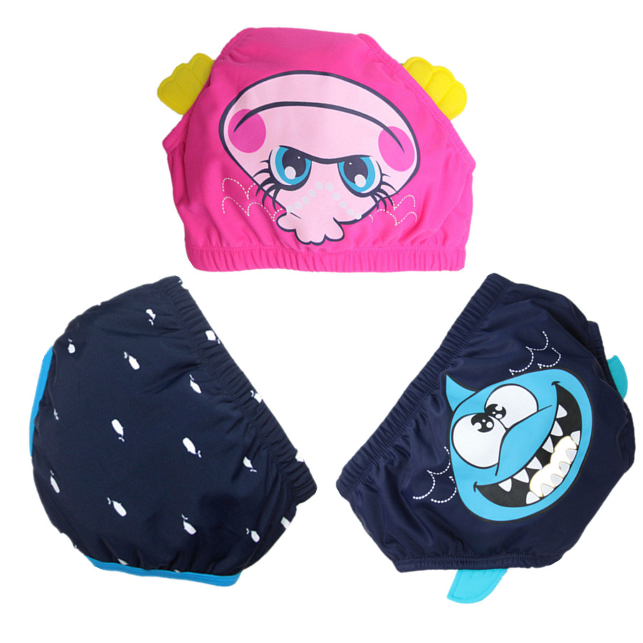 New 2018 Hot Summer Baby Girls Boys Swim Diaper Bag Children Panties Underwear Baby Reusable Swim Diaper Kids Cloth Diapers