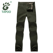 2017 brand TAPOO formal pants men cotton straight stretch business suit pants high quality casual mens cargo pants trousers