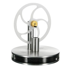 Aluminum Alloy Low Temperature Stirling Engine Model Toys For Class Physics Experiment Model Kit Gift Children Adult Toys(China)