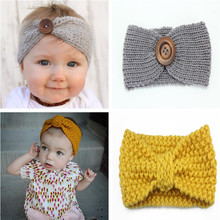 Winter Girl Knit Headband Headbands Hair Accessories For Newborns Head Bands Kids Hair Band Hairband Turban Hot Sales Yiwu