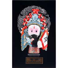 20cm Height Peking Opera Dolls Yuefei Table Wall Decoration Folk Handicraft Furnishing Articles Chinoiserie Gifts(China)